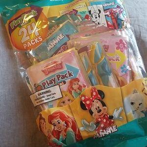 24 Disney mini play packs coloring NEW